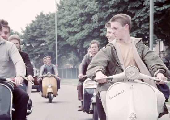 1960s Mods and Rockers ballet online at the BFI