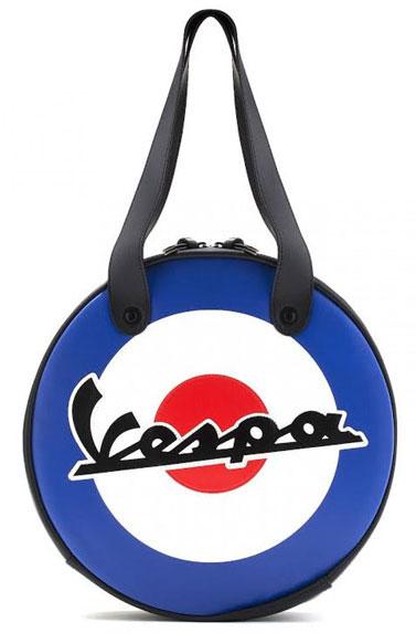 Vespa retro waterproof circular bag range