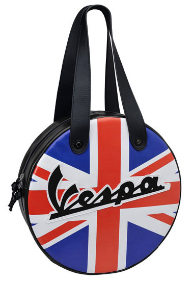 Vespa retro waterproof circular bag range