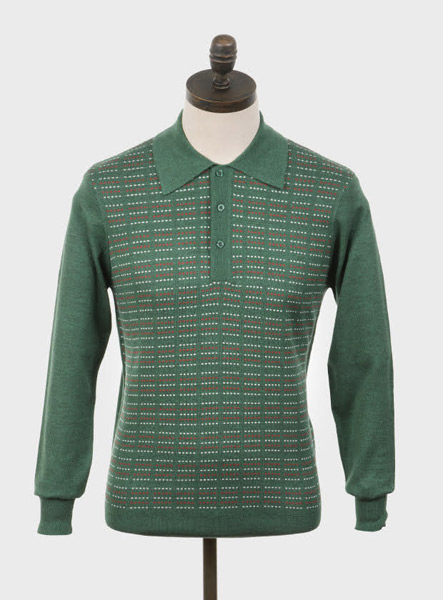Mod-inspired knitwear by Art Gallery Clothing