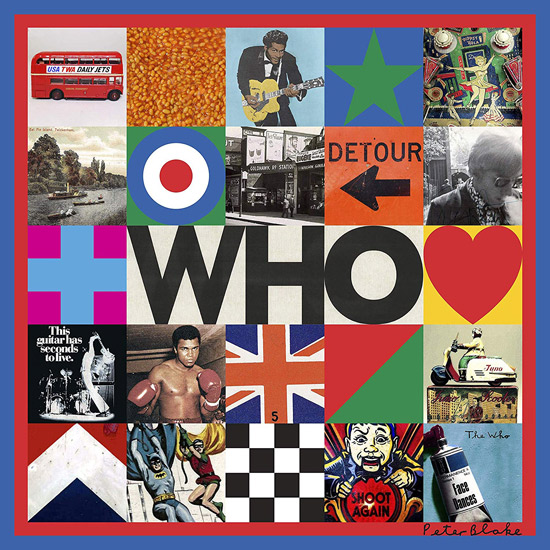 The Who official album artwork by Sir Peter Blake