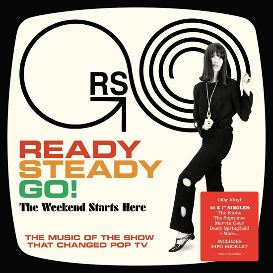 Ready Steady Go 7-inch vinyl box set