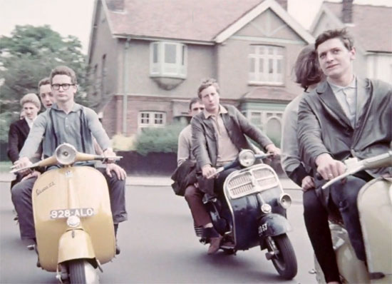 12. 1960s Mods and Rockers ballet online at the BFI