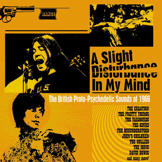 15. A Slight Disturbance In My Mind freakbeat CD box set