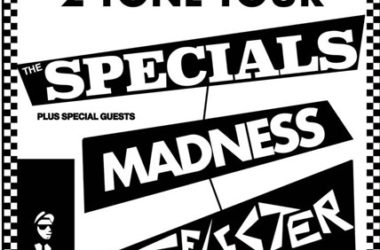 Reprinted 2 Tone tour posters by Bad Moon Prints