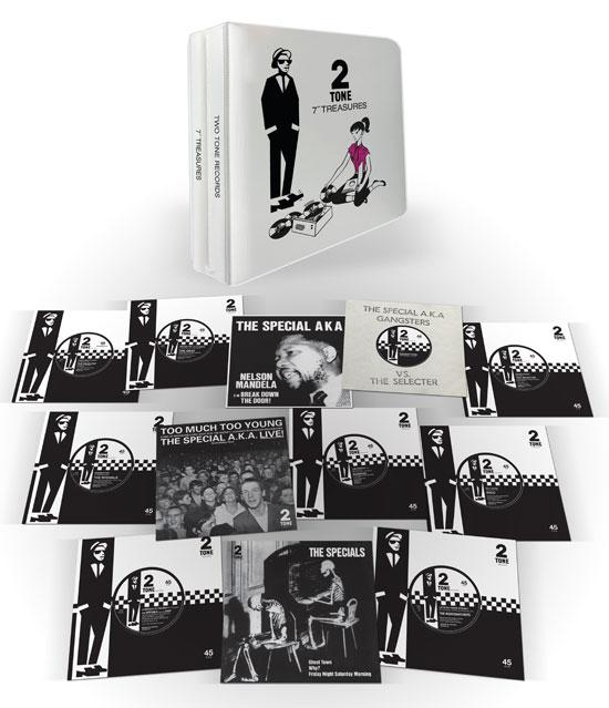 4. 2 Tone 7-inch Treasures vinyl box set