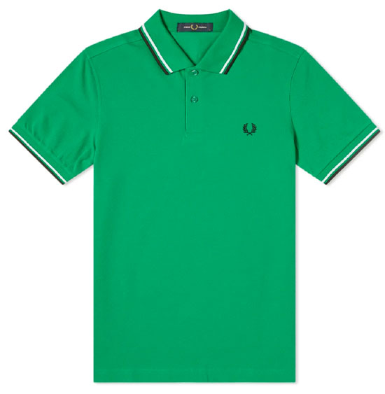 Discounted Fred Perry polo shirts at End