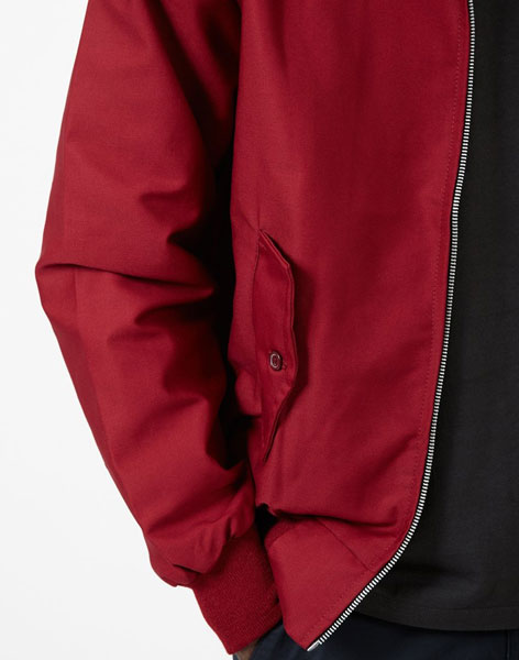 Made in England budget Harrington Jacket by The Idle Man