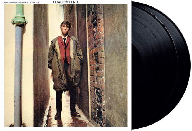Quadrophenia movie soundtrack heavyweight vinyl reissue