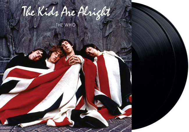 The Who - The Kids Are Alright heavyweight vinyl reissue