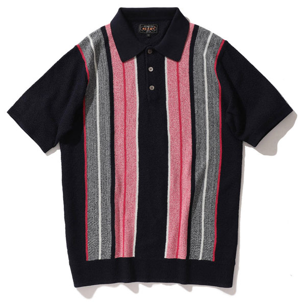 Beams Plus shows off its 1960s-style knitted polo shirts