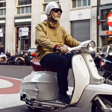 Budget v Premium: A tale of two scooter smocks