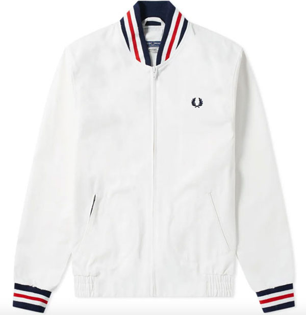 Mod classic: Fred Perry tennis bomber jacket