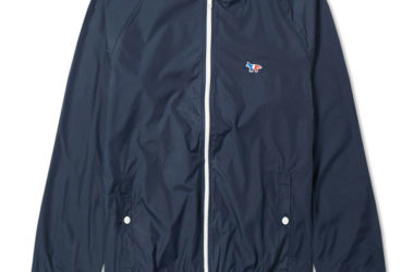 Weller wore: Maison Kitsune Tricolour Windbreaker