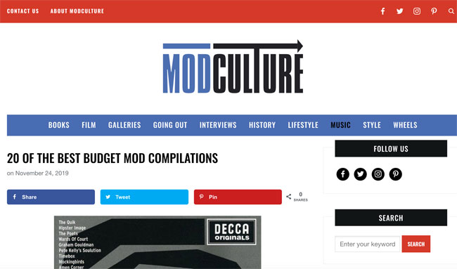 New version of the Modculture website launches