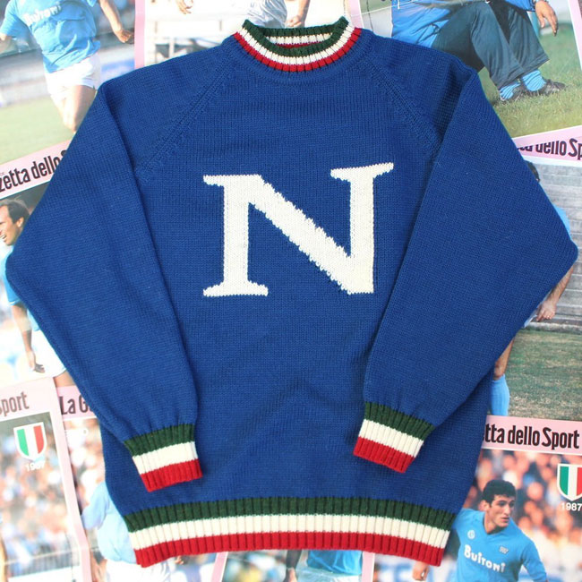 Vintage-style Napoli sweater by Trickett
