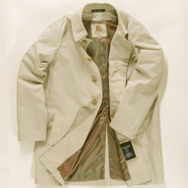 1. The Harry Palmer raincoat by Lancashire Pike