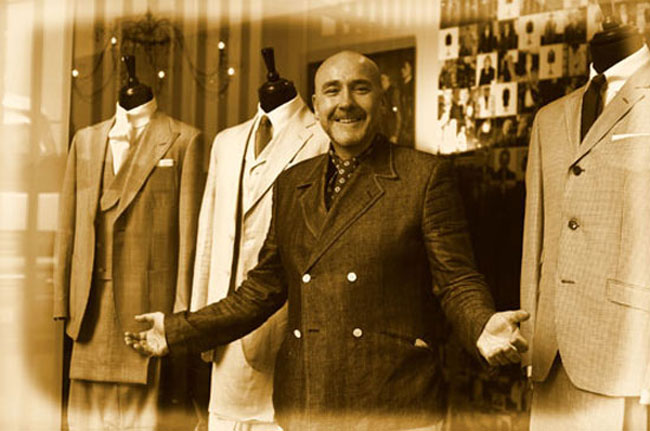 12. Interview with Mark Powell (Soho tailor)