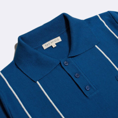 1960s-style polo shirts by Far Afield
