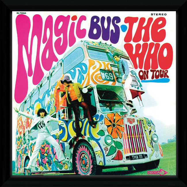 The Who framed album covers at Wayfair