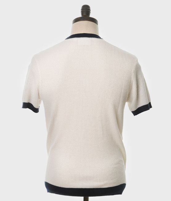 Goldhawk knitted crew neck top by Art Gallery Clothing