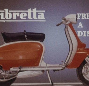 Lambretta documentary on Talking Pictures TV
