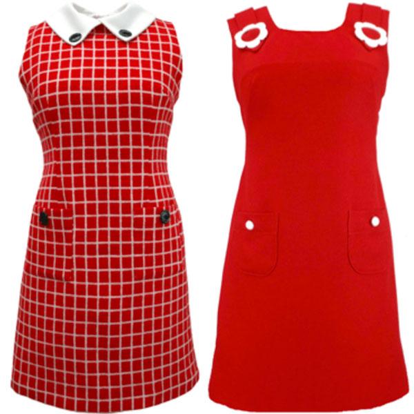 4. The Carnaby Streak Mod dresses