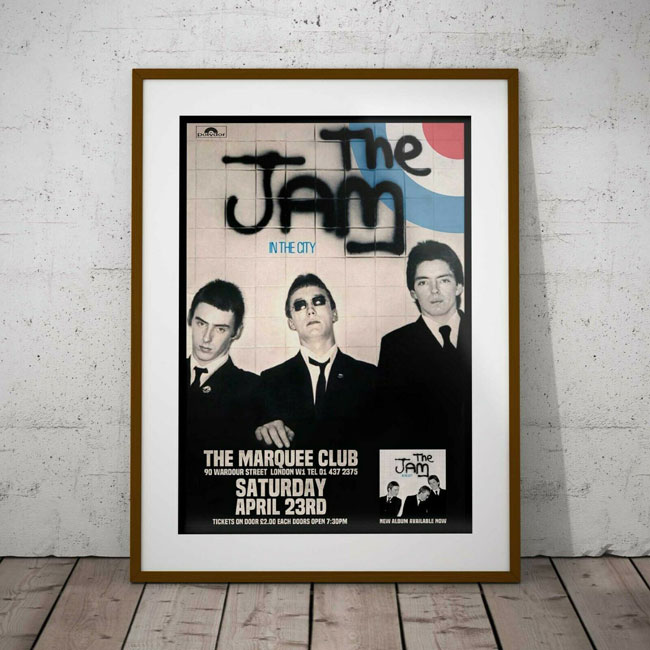The Jam at The Marquee 1977