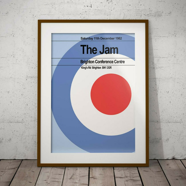 The Jam's final gig in Brighton