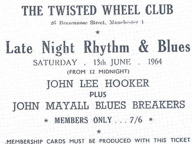 Twisted Wheel ticket