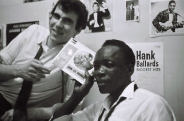 John Lee Hooker and Roger Eagle