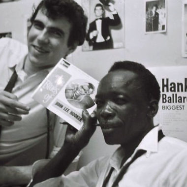 John Lee Hooker and Roger Eagle