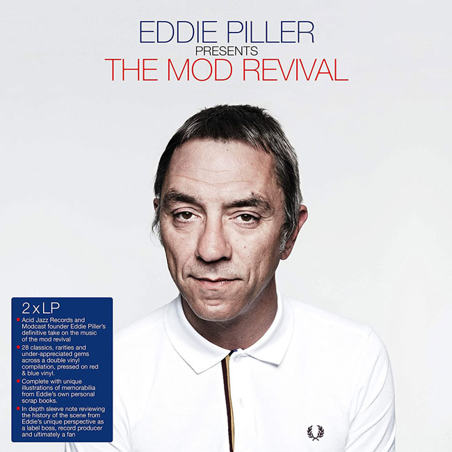 Eddie Piller presents The Mod Revival CD and vinyl set