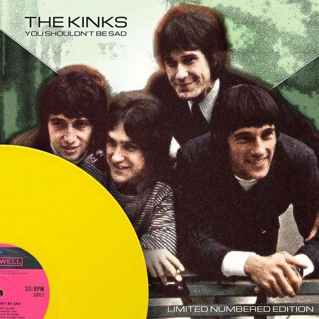 The Kinks - You Shouldn't Be Sad vinyl album