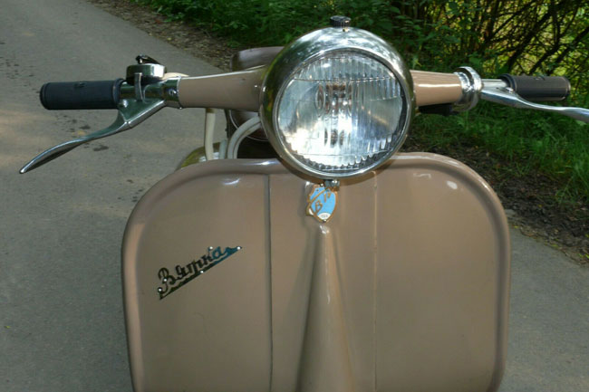 1960s Vjatka WP-150 scooter on eBay