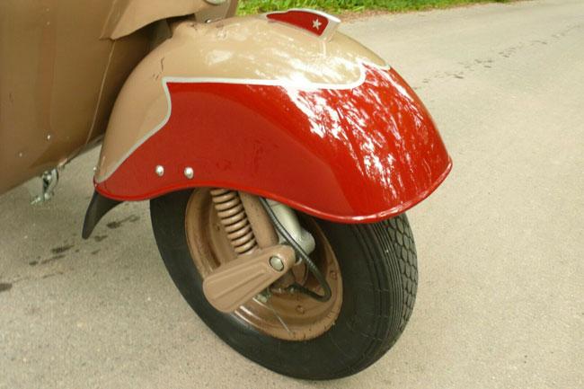 1960s Vjatka WP-150 scooter on eBay