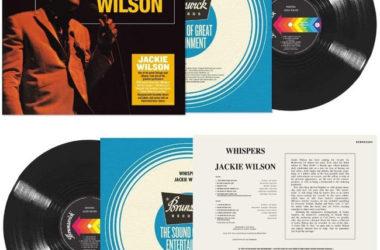 Jackie Wilson - Whispers vinyl album reissue