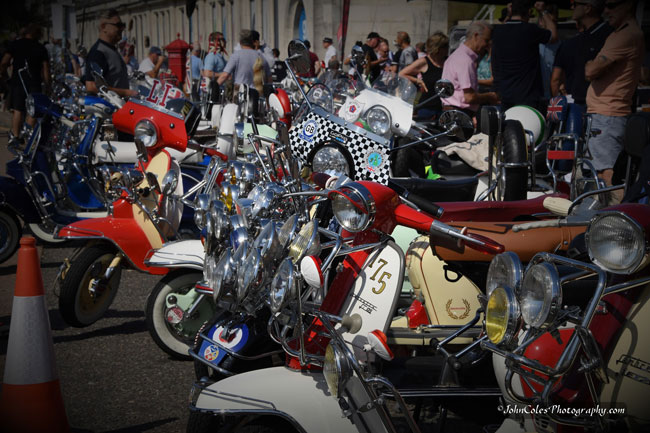 Brighton Mod Weekender 2019 photographs by John Coles