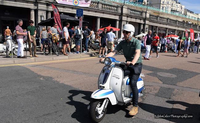 Brighton Mod Weekender 2019 photographs by John Coles