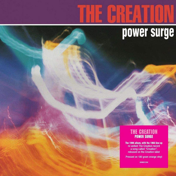 The Creation coloured vinyl album releases
