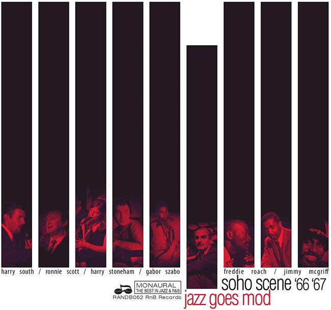 Soho Scene 66-67 (Jazz Goes Mod) CD box set