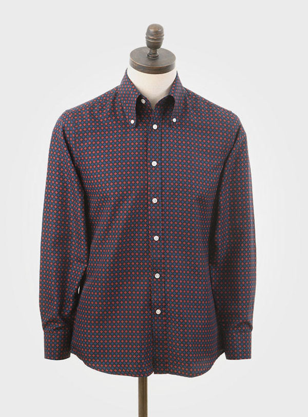 1960s-style long-sleeve shirts by Art Gallery Clothing