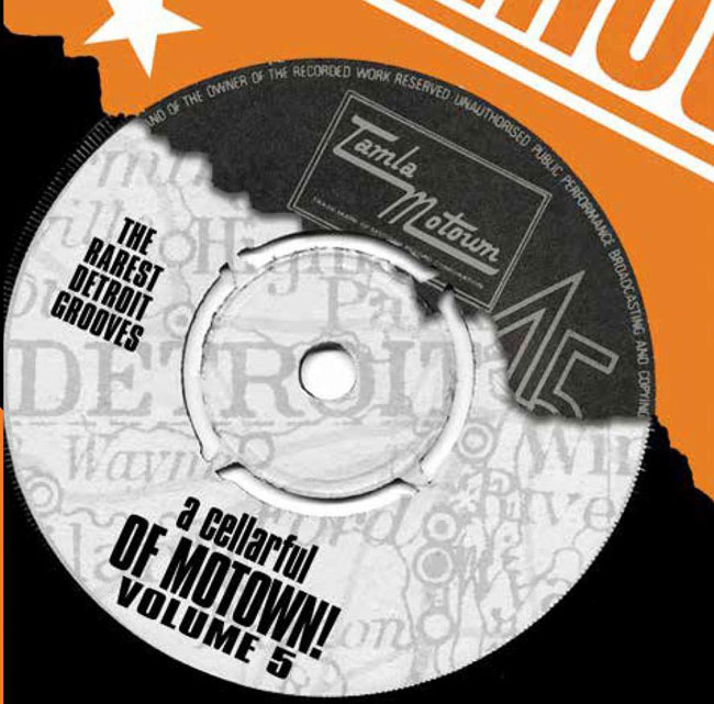 A Cellarful Of Motown Volume 5 CD set