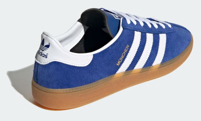 Reissued: Adidas Munchen City Series trainers
