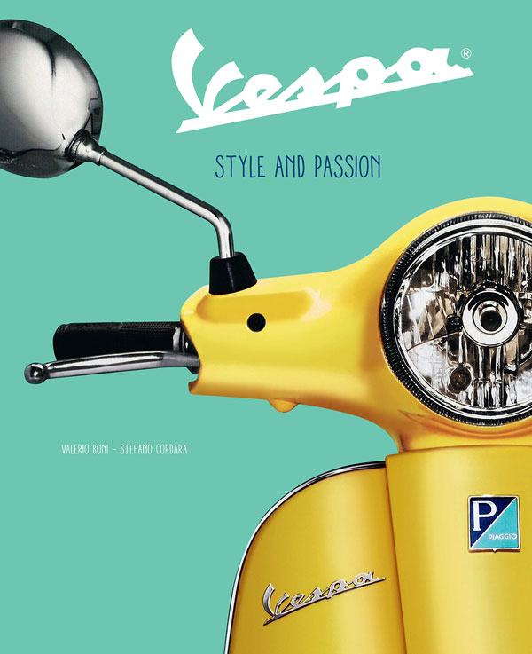 Vespa Style and Passion hardback book