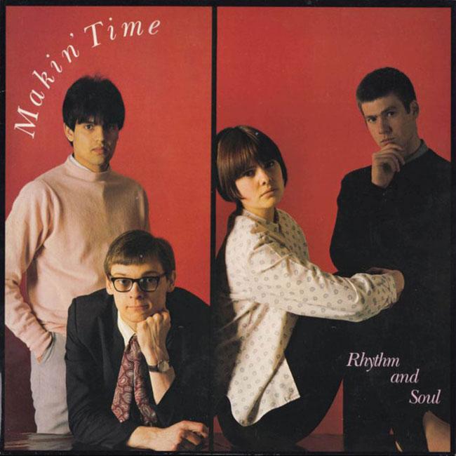 Makin' Time - Rhythm & Soul white vinyl reissue
