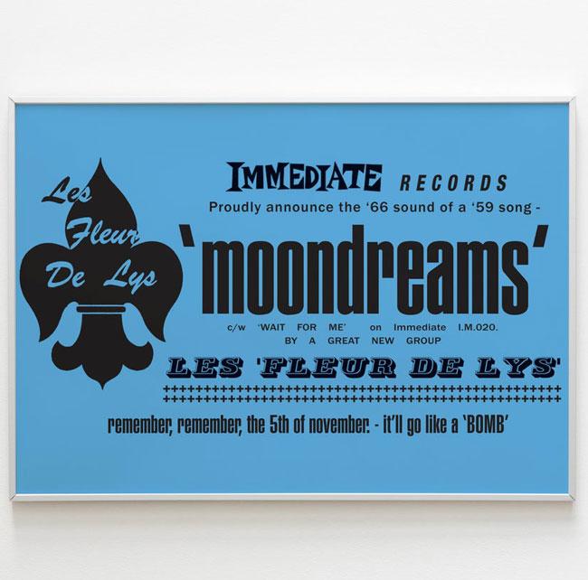 Limited edition 1960s Fleur De Lys gig posters