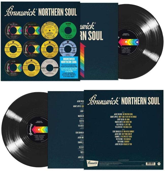 On vinyl: Brunswick Northern Soul compilation