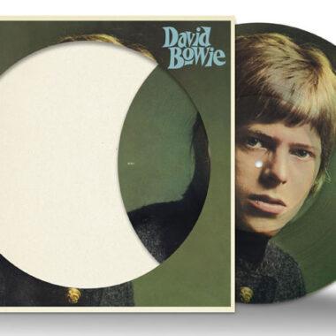 David Bowie's 1960s debut picture disc vinyl
