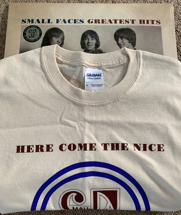 Small Faces Greatest Hits on coloured vinyl